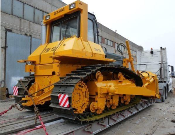 перевозка бульдозера в Екатеринбурге