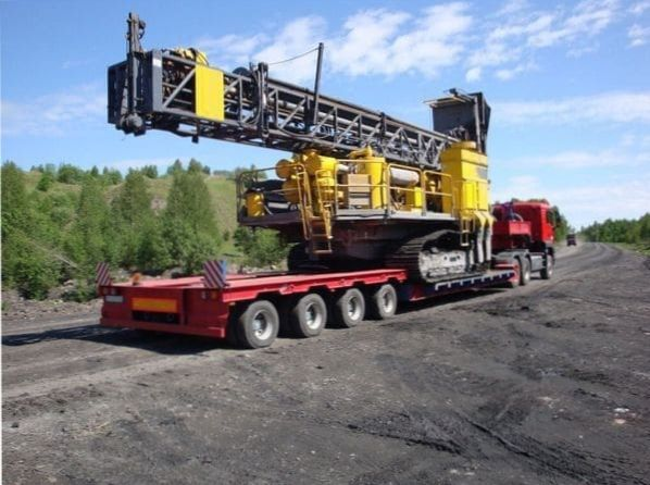 Перевозка буровой установки в Екатеринбурге
