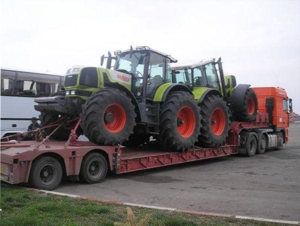 перевозка трактора в Екатеринбурге
